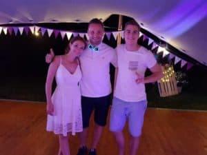 dj svatba david gránský a dj jiří vinkler