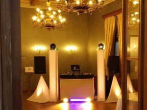 svatba chateau havel dj